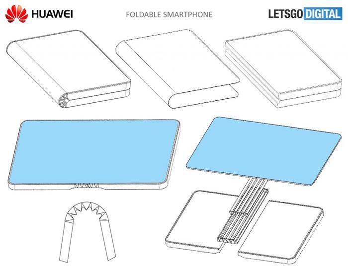 Huawei Foldabel Smartphone