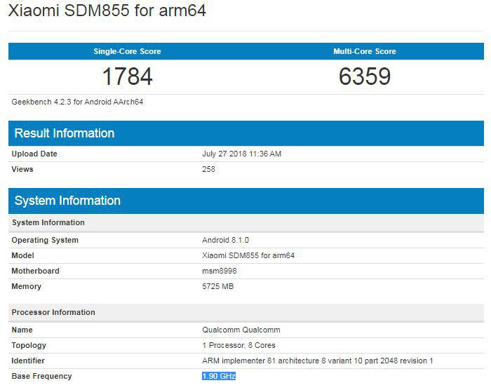 Xiaomi SM855 for arm64