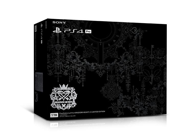 PlayStation®4 ProKINGDOM HEARTS IIILIMITED EDITION